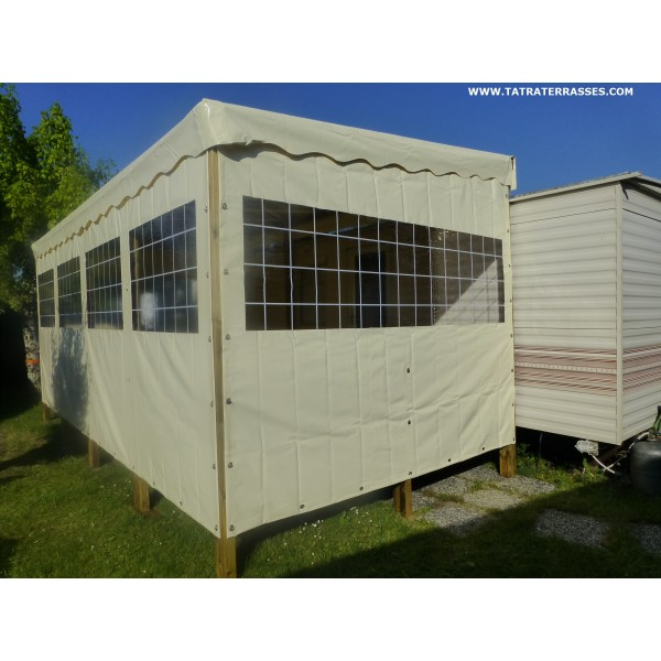 Home > Covered Terrace > wooden terrace Mobile home